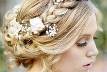Fashion: Wedding Hair / Looking for #wedding hair inspiration? Find updo's, half up half down, and down wedding #hair.  / by Wedding Favors Unlimited