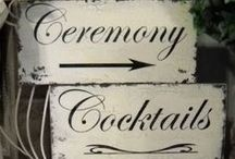 Ideas: Decorations / There are so many options when it comes to #wedding decorations. Here are some ideas for decorating your wedding ceremony and reception hall. / by Wedding Favors Unlimited