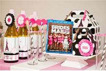 Events: Bachelorette Party / Preparing for a #bachelorette party? Find fun ideas here that will have your party roaring in laughter. / by Wedding Favors Unlimited