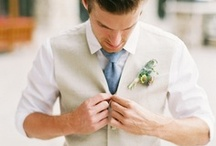 Groom Fashion / Dressing the #groom for his big day can be tricky. Get an idea of what he wants to wear for the #wedding with these inspirational pins. / by Wedding Favors Unlimited