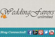 Connect With Us! / Find Wedding Favors Unlimited in more places than Pinterest! Find our links on Twitter, Facebook, Google+ and more. #wedding / by Wedding Favors Unlimited