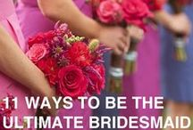 Bridal Party: Tips & Duties / Ideas, tips and help for bridesmaids and groomsmen. / by Wedding Favors Unlimited