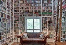 Book Cases, Libraries, Studies / by Barbara Nelson