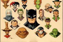 BATMAN and the best villains / by Tiny Cruz