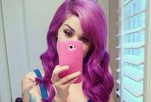 Colorful Hair / My Love For Dyed Hair Done Right (:  <3 / by Kenzie Love