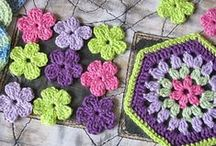 CROCHET: Motifs & Embellishments / YARN CRAFTS: Crochet- Motifs & Embellishments / by Lady Katie