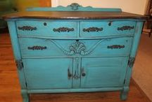 Painted Furniture & Repurposed Love / awesome makeovers / by Rhonda Suggs