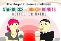 Starbucks vs. Dunkin Donuts / by CivicScience