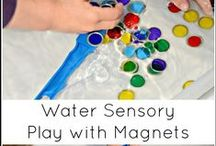 Sensory Play / In my classroom the sensory tub is by far the most popular area.....can you see why? / by Meagan Brammer