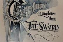 Calligraphy / by John McIntosh