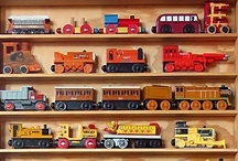 Train themed decor  / by Lo S