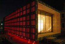 Casa de Pallets / Casas feitas com #paletes  Mais aqui -> http://maispaletes.com/ / by MaisPaletes .com