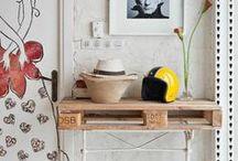 Decorar com Paletes / Decorar a casa reutilizando pallets / by MaisPaletes .com