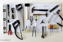 Garage Organization / Tips and ideas on garage storage and other solutions / by Chamberlain