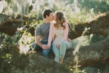 Engagement Shoot Ideas / Just as important as finding the right photographer, finding the right pose will mean the difference between a great photo and the perfect photo. Be inspired by these dazzling engagement photos for your next shoot!  / by Ruche Bridal