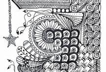 Zentangle / Doddling / by Celeste Pater