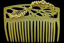 Hair Ornaments and Vintage Hair Combs  / by Barbara Collin
