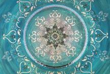 Aqua, Teal and Turquoise / by Barbara Collin