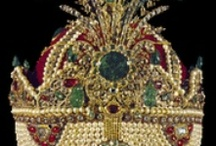 CROWNS & JEWELS OF ROYALTY / Crowns and royalty jewels, and those who have worn them. / by Jamie Norvell
