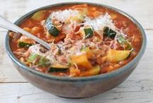 Soups, Stews, Stocks, Bisques, Chowders and Chili / by Gina