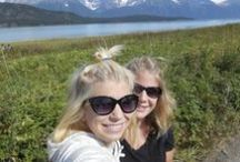 Alaska ~ At Last & Again / Went on a mother & daughter trip to Alaska in August 2013, June 2014 & are going back summer 2015! Could easily spend my summers here every year. We love Alaska! / by Sheryl Stasel