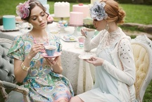 My Love for Tea Parties! /  Welcome to my Tea Party, I've collected lots of delicious recipes for us to try and great ideas to create your own tea party! Have a Tea-rrific Time!. / by Annette Kessler