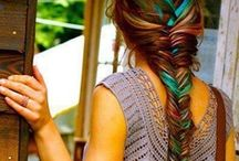 Mermaids... / mermaid hair and art / by The Good Life In Practice (Katy Runacres)