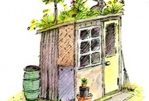 Allotment + Garden  / Lots of exciting ideas to try in the next garden including pond ideas and DIY veg patch plans! / by The Good Life In Practice (Katy Runacres)