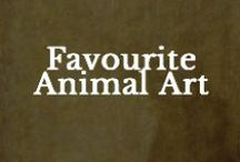 Favourite Animal Art / A oinboard to share your favourite animal art / by Creative Pet Project