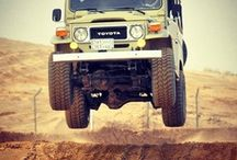 Old school 4x4s / by C O