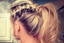 Hair & Beauty. / hairstyles, hair tips, beauty tips.  / by Amber B.
