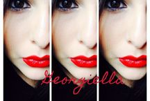 Playing with make up / by GeOrGieLLa