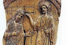 RELIEFS -IVORY-ALABASTER,ETC / roman,greeks,byzantines,etc / by Maria Dolores Fernandez