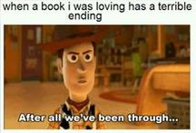 how i feel about books.. / by leah fenick