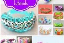 Crafts-Rubber Band (Charms/Bracelets) / by Rhea Wilson