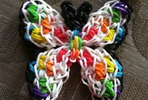 Rainbow Loom® / Please feel free to comment and also Like! Also feel free to join my board, all you have to do is ask! Please invite your friends! Have fun Rainbow Looming!  / by ♥ Mackenzie Pitman ♥