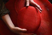 Modiste, millinery. / Materialen ,gereedschappen en ideeen voor dit ambacht / by Rieni Bal