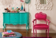 Painted furniture / by Carrie Moultrie