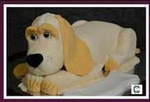 ANIMALES / FONDANT ANIMALS CAKES / 3D AND 2D SCULPTED ANIMALS CAKES / by Carlos Maynez