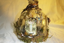 altered bottles / by Linda Reese