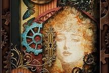 mixed media art no. 1 / by Linda Reese
