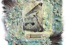 Fabric Collage / by Linda Reese