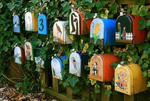 Mailboxes / by Leah Price Hawks