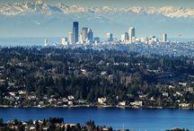 Seattle, WA / Familiar sights and scenes of Seattle  / by Sandra Vanderploeg