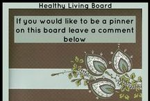 Healthy Living / Group board for ideas on healthy living. You can post anything that will help us achieve a healthier lifestyle.  / by lynda wiggins
