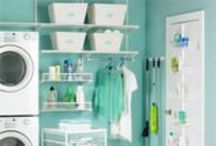 Home - Laundry  / Great laundry room inspirations / by lynda wiggins
