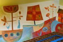 to school - do školy / nápady pro tvorbu s dětmi -  inspiration , kids craft / by Eva Masarikova