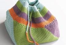 crochet it ~ bags / by Barbara Harris