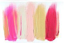 colorful / Farbenfrohes und kunterbuntes was mich glücklich macht. Farbkombinationen und Paletten die ich mir unbedingt merken muss. / by a.liZ.a