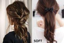 Haare - die schönsten Frisuren / Haar - und Frisureninspirationen / by a.liZ.a